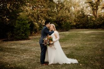 Caitlin + James   Married
